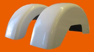 wide replacement fenders for harley tri glide