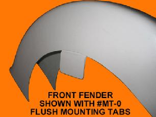 motorcycle fender mounting