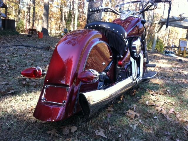 indian rear fender